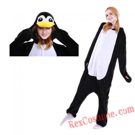 Adult Penguin Kigurumi Onesie Pajamas Cosplay Costumes