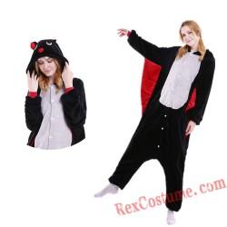 Adult Bat Kigurumi Onesie Pajamas Cosplay Costumes
