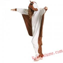 Adult Flying Mouse Kigurumi Onesie Pajamas Cosplay Costumes