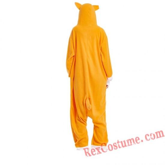 Adult Love Heart Dog Kigurumi Onesie Pajamas Cosplay Costumes