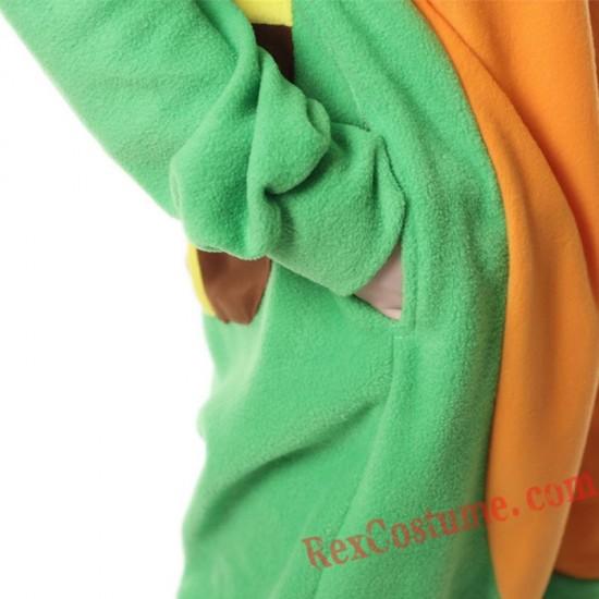 Adult Turtle Kigurumi Onesie Pajamas Cosplay Costumes