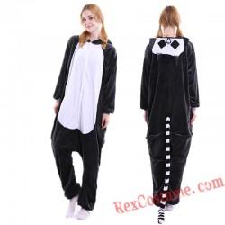 Adult Lemur Kigurumi Onesie Pajamas Cosplay Costumes