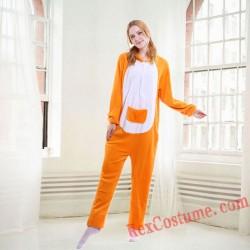 Adult Kangaroo Kigurumi Onesie Pajamas Cosplay Costumes