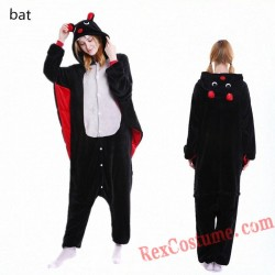Adult Bat Kigurumi Onesie Pajamas Cosplay Costumes