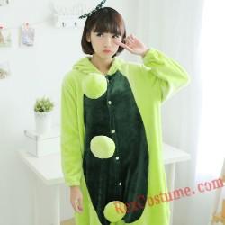 Adult Pea Kigurumi Onesie Pajamas Cosplay Costumes