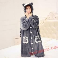 Adult Grizzly Kigurumi Onesie Pajamas Cosplay Costumes