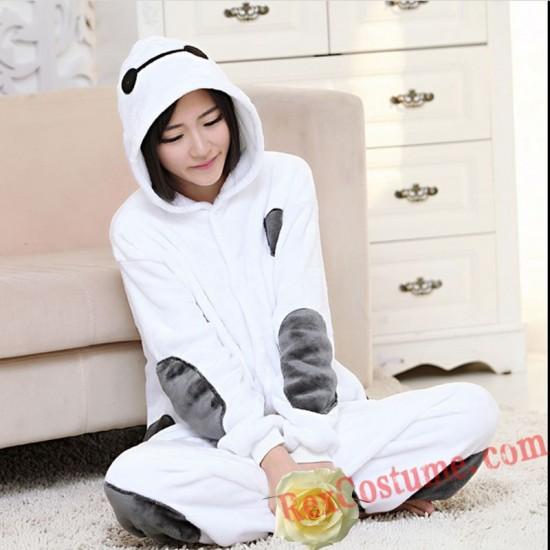 Adult Baymax Kigurumi Onesie Pajamas Cosplay Costumes