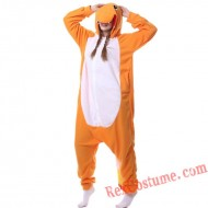 Adult Fire Dragon Kigurumi Onesie Pajamas Cosplay Costumes