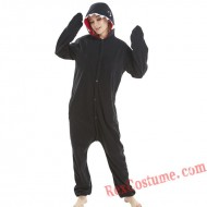 Adult Black Shark Kigurumi Onesie Pajamas Cosplay Costumes