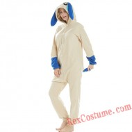 Adult Rabbit Kigurumi Onesie Pajamas Cosplay Costumes