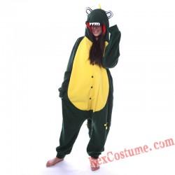 Adult Crocodile Kigurumi Onesie Pajamas Cosplay Costumes