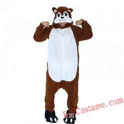 Adult Chipmunk Kigurumi Onesie Pajamas Cosplay Costumes