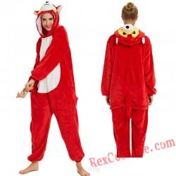 Adult Husky Dog Kigurumi Onesie Pajamas Cosplay Costumes