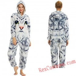 Adult 3D Cat Kigurumi Onesie Pajamas Cosplay Costumes