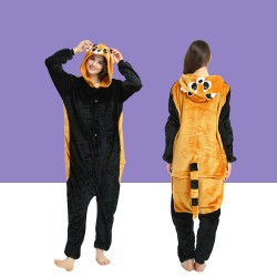 Adult Raccoon Kigurumi Onesie Pajamas Cosplay Costumes