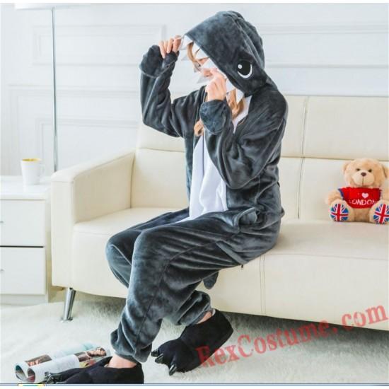 Shark Kigurumi Onesie Pajamas Cosplay Costumes for Adult