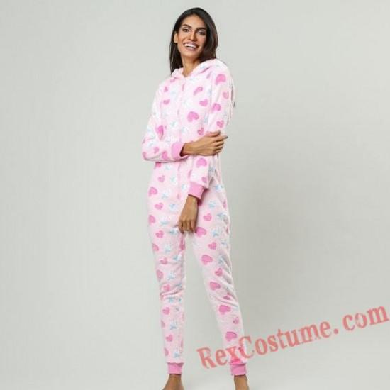 Printing Onesies Pajamas Hoodie Home Wear