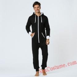 Men Onesies Pajamas Hoodie Home Wear