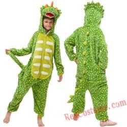 Dinosaur T-Rex Kids Kigurumi Onesie Pajamas Costumes