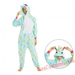Unicorn Kigurumi Onesie Pajamas Cosplay Costumes