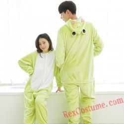 Frog Kigurumi Onesie Pajamas Cosplay Costumes