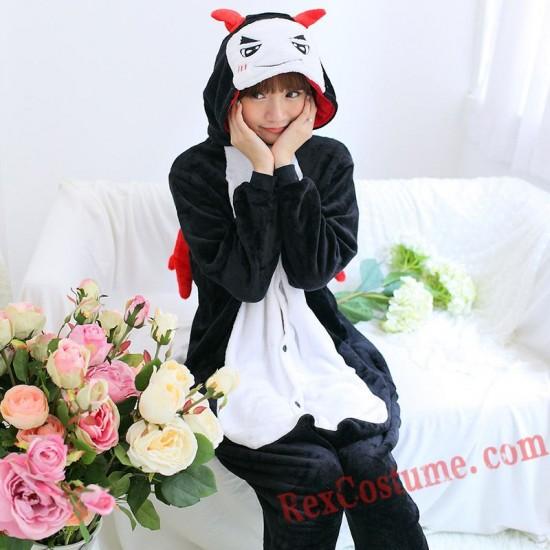 Demon Kigurumi Onesie Pajamas Cosplay Costumes