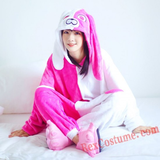 Angela Rabbit Kigurumi Onesie Pajamas Cosplay Costumes