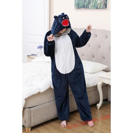 T-Rex Kigurumi Onesie Pajamas Cosplay Costumes