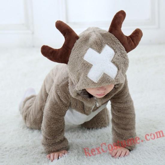 Deer Baby Infant Toddler Halloween Animal onesies Costumes