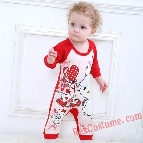 Cat Baby Infant Toddler Halloween Animal onesies Costumes