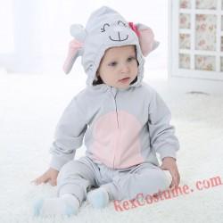 Elephant Baby Toddler Halloween Animal onesies Costumes