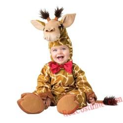 Giraffe Baby Infant Toddler Halloween Animal onesies Costumes