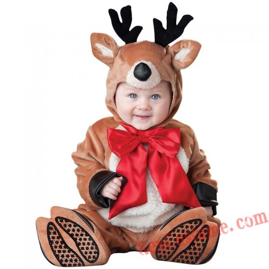 Deer Baby Infant Toddler Christmas onesies Costumes