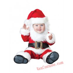Santa Claus Baby Infant Toddler Christmas onesies Costumes