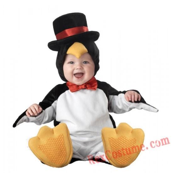 Penguin Baby Infant Toddler Halloween Animal onesies Costumes