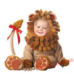Lion Baby Infant Toddler Halloween Animal onesies Costumes