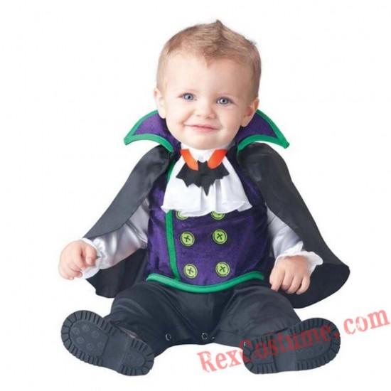 Vampire Baby Infant Toddler Halloween onesies Costumes