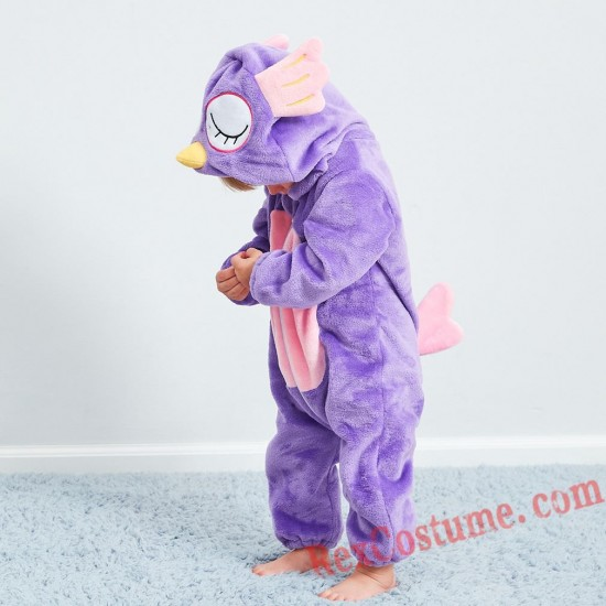 Owl Baby Infant Toddler Halloween Animal onesies Costumes