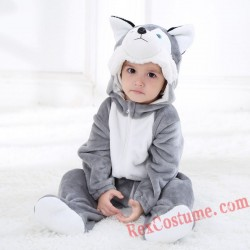 Wolf Baby Infant Toddler Halloween Animal onesies Costumes