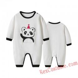 Panda Baby Infant Toddler Halloween Animal onesies Costumes