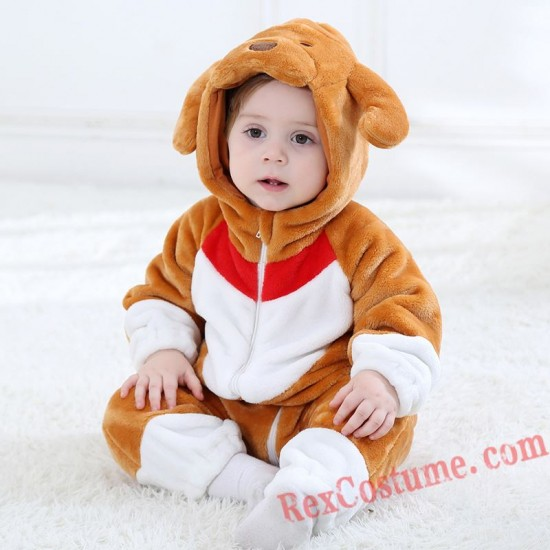 Dog Baby Infant Toddler Halloween Animal onesies Costumes