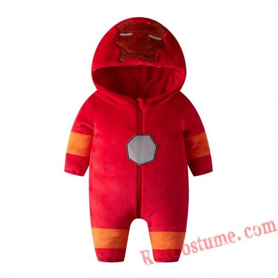 Iron Man Baby Infant Toddler Halloween onesies Costumes