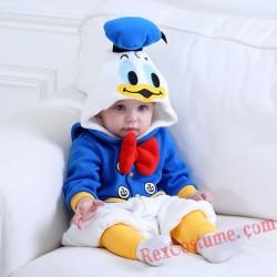 Disney Donald Duck Baby Toddler Halloween onesies Costumes
