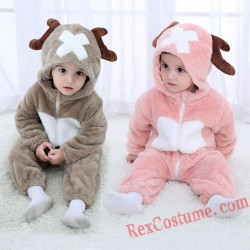 Deer Baby Infant Toddler Halloween Animal onesies Costumes