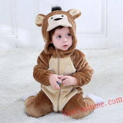 Monkey Baby Infant Toddler Halloween Animal onesies Costumes