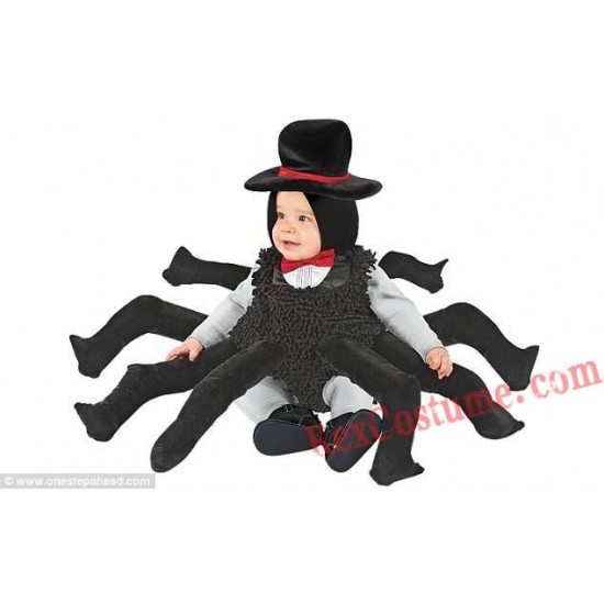 Spider Baby Infant Toddler Halloween Animal onesies Costumes