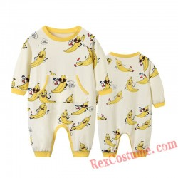 Banana Baby Infant Toddler Halloween Animal onesies Costumes