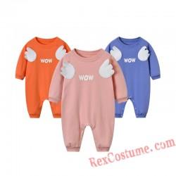 Wings Baby Infant Toddler Halloween Animal onesies Costumes