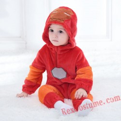 Iron Man Baby Infant Toddler Halloween onesies Costumes