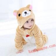 Rilakkuma Baby Infant Toddler Halloween Animal onesies Costumes